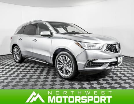 2018 Acura MDX for sale in Lynnwood, WA