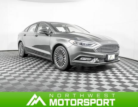 2017 Ford Fusion SE for sale at Northwest Motorsport in Lynnwood WA