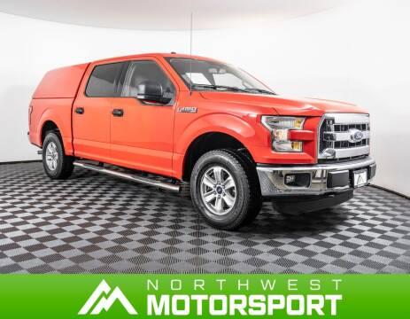 2015 Ford F-150 XLT for sale at Northwest Motorsport in Lynnwood WA