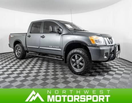 2013 Nissan Titan for sale at Northwest Motorsport in Lynnwood WA