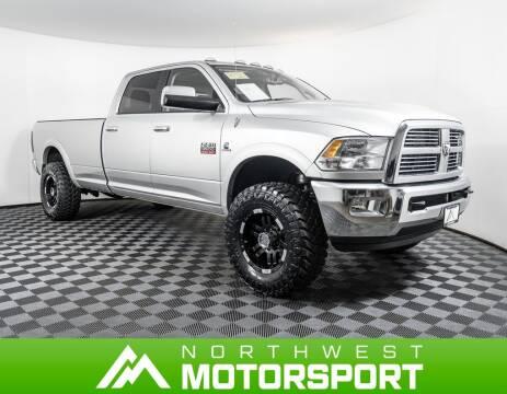 2012 RAM Ram Pickup 3500 Laramie for sale at Northwest Motorsport in Lynnwood WA