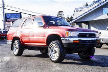 1995 Toyota 4Runner for sale in Lynnwood, WA