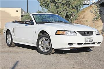 2001 Ford Mustang for sale at VCB INTERNATIONAL BUSINESS in Van Nuys CA