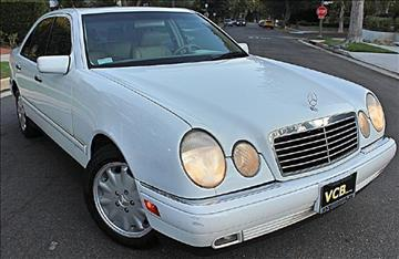 1999 Mercedes-Benz E-Class for sale at VCB INTERNATIONAL BUSINESS in Van Nuys CA