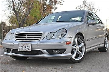 2005 Mercedes-Benz C-Class for sale at VCB INTERNATIONAL BUSINESS in Van Nuys CA