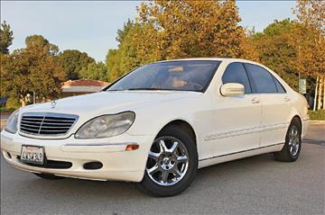 2002 Mercedes-Benz S-Class for sale at VCB INTERNATIONAL BUSINESS in Van Nuys CA