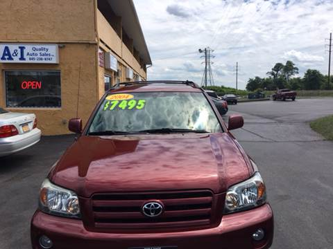 2004 Toyota Highlander for sale in Middletown, NY