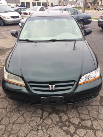2001 Honda Accord Value 4dr Sedan