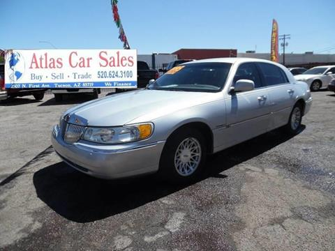 1998 Lincoln Town Car for sale in Tucson, AZ