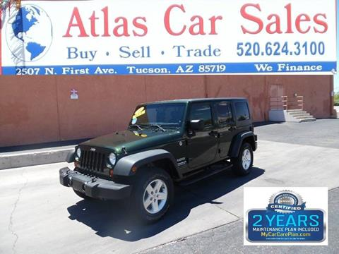 2011 Jeep Wrangler Unlimited for sale in Tucson, AZ