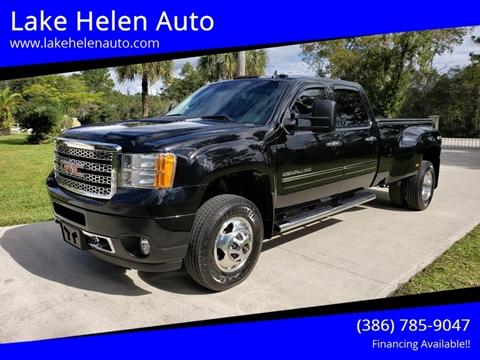 2013 GMC Sierra 3500HD for sale in Lake Helen, FL