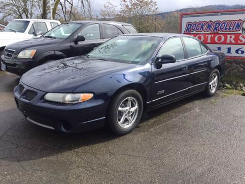 2002 Pontiac Grand Prix for sale in Roseburg, OR