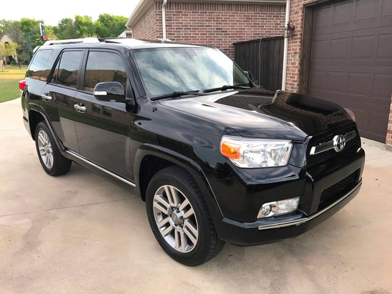 Exceptional 2012 Toyota 4Runner AWD Limited 4dr SUV   Allen TX