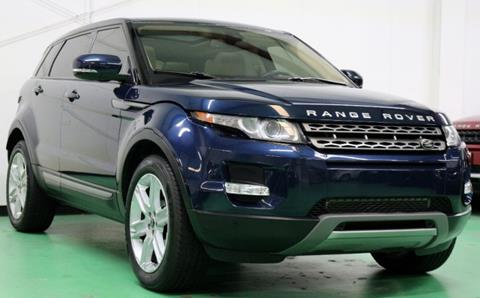 2013 Land Rover Range Rover Evoque for sale in Dallas, TX