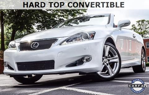 2013 Lexus IS 250C for sale in Roswell, GA