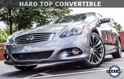 2011 Infiniti G37 Convertible for sale in Roswell, GA