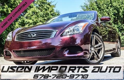 2010 Infiniti G37 Convertible for sale in Roswell, GA