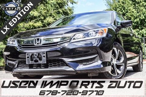 2017 Honda Accord for sale in Roswell, GA