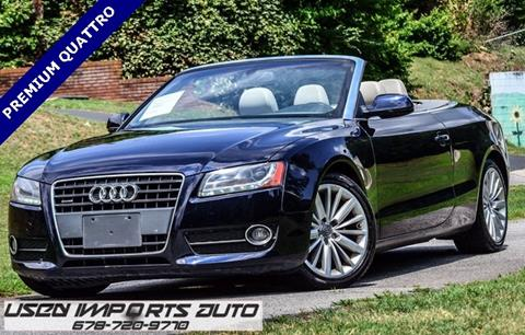 2010 Audi A5 for sale in Roswell, GA