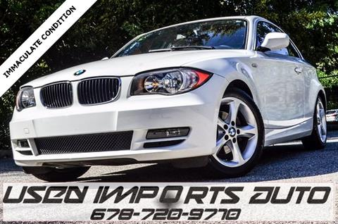 2011 BMW 1 Series for sale in Roswell, GA