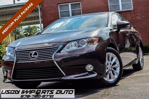 2014 Lexus ES 300h for sale in Roswell, GA