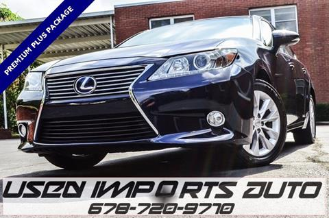 2013 Lexus ES 300h for sale in Roswell, GA