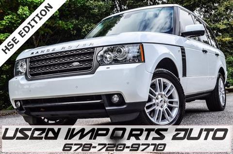 2011 Land Rover Range Rover for sale in Roswell, GA