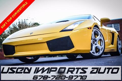 2006 Lamborghini Gallardo for sale in Roswell, GA
