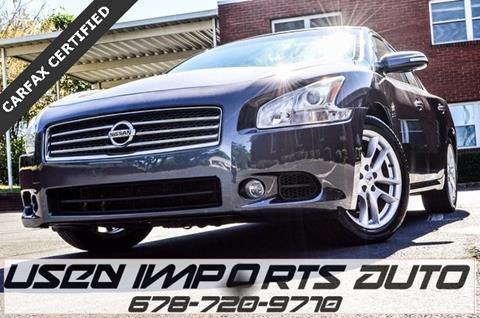 2010 Nissan Maxima for sale in Roswell, GA