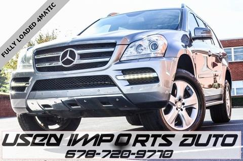 2012 Mercedes-Benz GL-Class for sale in Roswell, GA