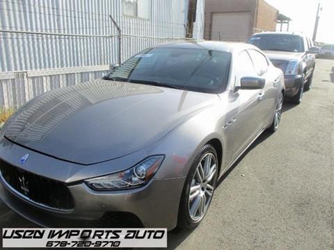 2014 Maserati Ghibli for sale in Roswell, GA