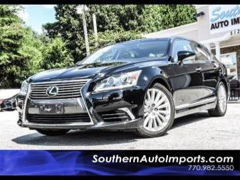 2016 Lexus LS 460 for sale at Used Imports Auto - Southern Auto Imports in Stone Mountain GA