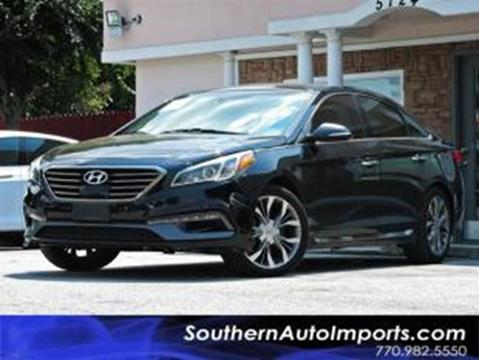2015 Hyundai Sonata for sale at Used Imports Auto - Southern Auto Imports in Stone Mountain GA