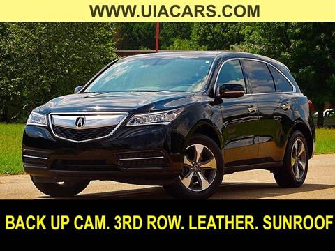 2016 Acura MDX for sale at Used Imports Auto - Lawrenceville in Lawrenceville GA