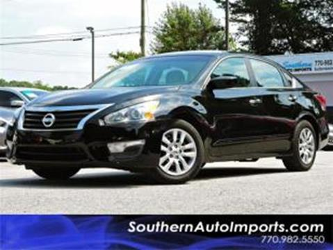 2015 Nissan Altima for sale at Used Imports Auto - Southern Auto Imports in Stone Mountain GA