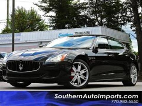 2015 Maserati Quattroporte for sale at Used Imports Auto - Southern Auto Imports in Stone Mountain GA