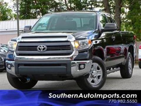 2014 Toyota Tundra for sale at Used Imports Auto - Southern Auto Imports in Stone Mountain GA