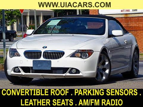 2007 BMW 6 Series for sale at Used Imports Auto - Lawrenceville in Lawrenceville GA