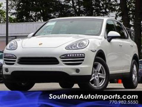 2014 Porsche Cayenne for sale at Used Imports Auto - Southern Auto Imports in Stone Mountain GA