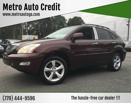 2008 Lexus RX 350 for sale at Used Imports Auto - Metro Auto Credit in Smyrna GA