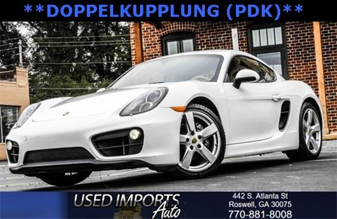 2015 Porsche Cayman for sale in Roswell, GA