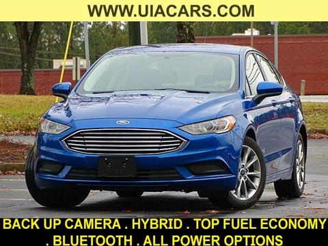 2017 Ford Fusion Hybrid for sale at Used Imports Auto - Lawrenceville in Lawrenceville GA