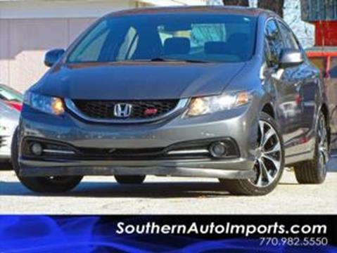 2013 Honda Civic for sale at Used Imports Auto - Southern Auto Imports in Stone Mountain GA