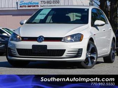 2015 Volkswagen Golf GTI for sale at Used Imports Auto - Southern Auto Imports in Stone Mountain GA