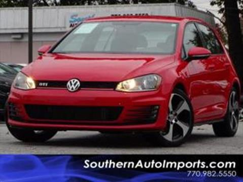 2017 Volkswagen Golf GTI for sale at Used Imports Auto - Southern Auto Imports in Stone Mountain GA