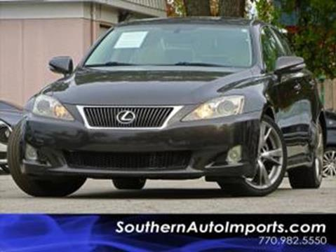 2010 Lexus IS 250 for sale at Used Imports Auto - Southern Auto Imports in Stone Mountain GA
