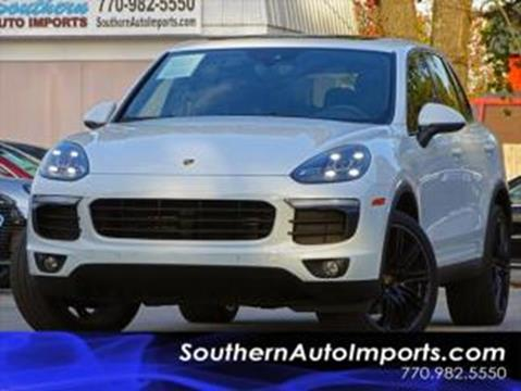 2016 Porsche Cayenne for sale at Used Imports Auto - Southern Auto Imports in Stone Mountain GA