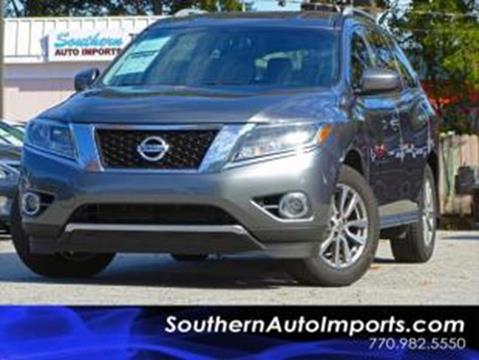 2015 Nissan Pathfinder for sale at Used Imports Auto - Southern Auto Imports in Stone Mountain GA