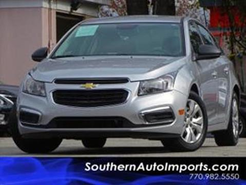2016 Chevrolet Cruze Limited for sale at Used Imports Auto - Southern Auto Imports in Stone Mountain GA