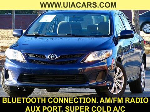 2012 Toyota Corolla for sale at Used Imports Auto - Lawrenceville in Lawrenceville GA